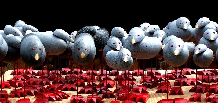 Machines, Nonentities, Bird, Automata, Wood