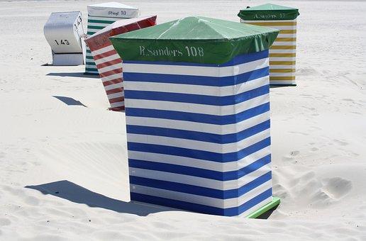 Beach, Beach Chair, Vacation, Travel, Water, Sand