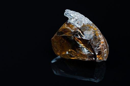 Glass, Piece, Broken, Crystallized, Artistic, Clean