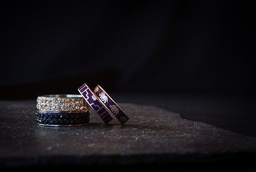 Rings, Diamonds, Jewel, Ring, Rhinestones, Commitment