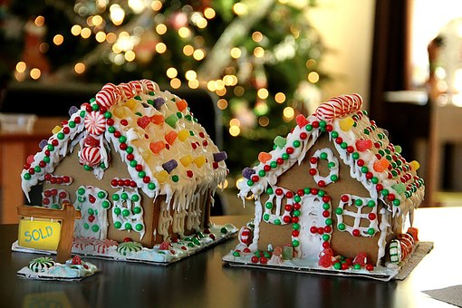 Gingerbread, Holiday, Christmas, Home, Ginger, Cookie
