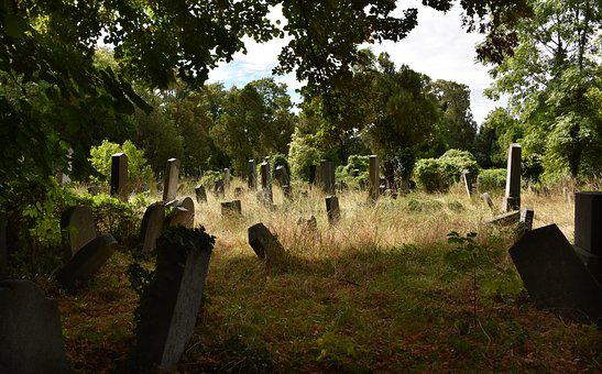 Cemetery, Tombstone, Death, Leave, Tomb, Old, Haunting