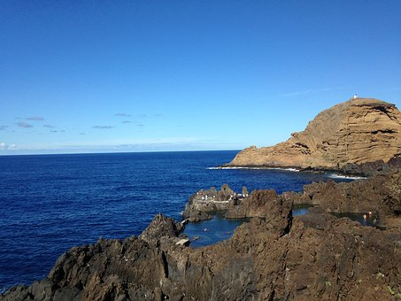 Mar, Costa, Rocks, Litoral, Beira Mar, Portugal