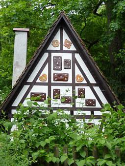 Witch's House, Märchengarten Ludwigsburg, The Witch