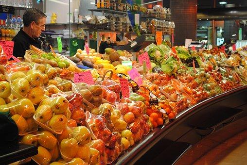 Fruit Seller, Market Stall, Stall, Market, Seller