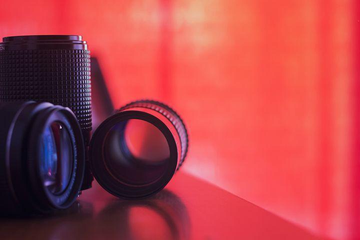 Camera Lens, Canon, Color, Lens, Lenses, Red