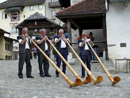 Ringers, Gruyère, Switzerland