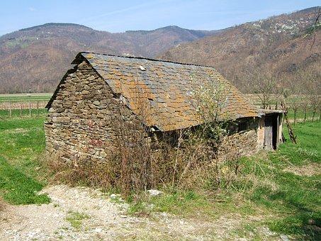 Stone House, Architecture, Bosnia, Stone Shingles