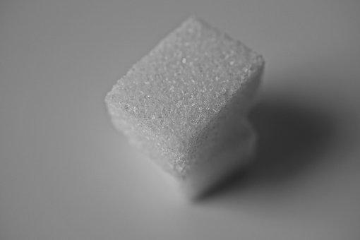 Cubes, Sugar, Still Life, Black And White, Cold, Cube