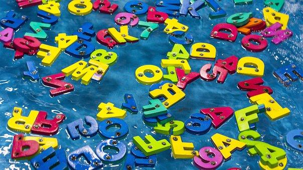Color, Alphabet, Plastic, Children, Leisure, Chaos, Fun