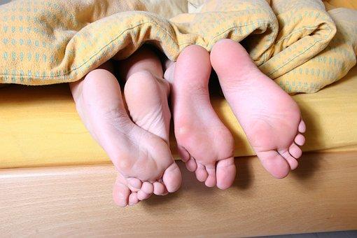 Few Feet, Bed, Hell, Yellow, Beautiful, Beauty