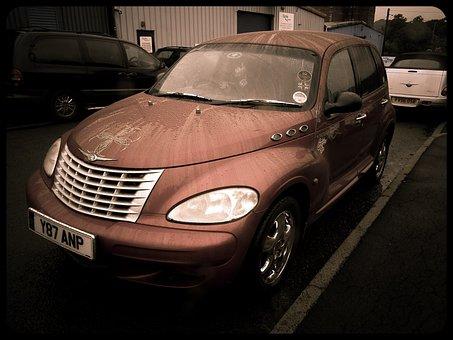 Chrysler, Automobile, Pt Cruiser, Retro, Car, Vintage