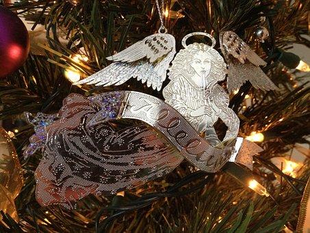 Angel, Christmas Angel, Decoration, Seasonal, December