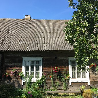 House, Rural, Old, Countryside, Village, Country