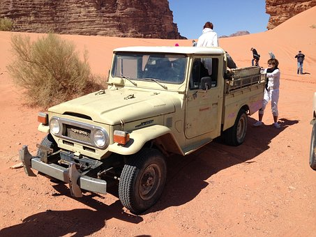 Toyota, Land, Rover, Desert, Jordan, Bedouin, Wadi Rum