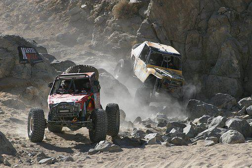 Quadricycle, Racing, King Of The Hammers, 4x4, Mountain