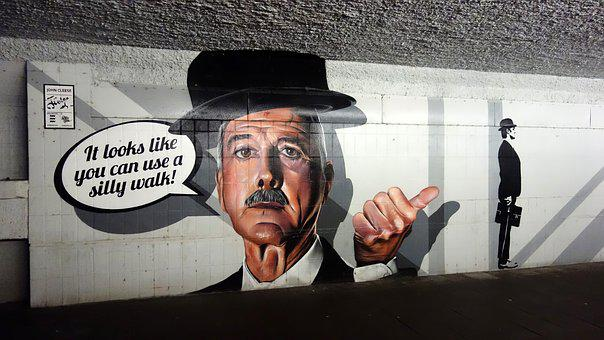 Bicycle Tunnel, Pedestrian Tunnel, Tunnel, Mural
