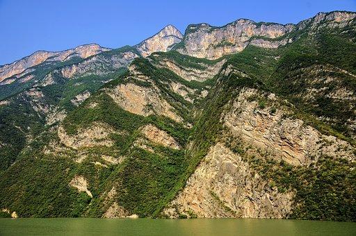The Three Gorges, Landscape, China, The Yangtze River