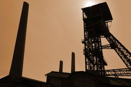 Industry, Coal Mining, Coal, Extraction