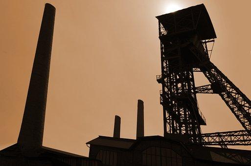 Industry, Coal Mining, Coal, Extraction
