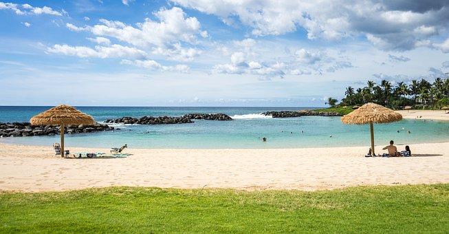 Hawaii, Beach, Ko Olina Resort, Marriott, Hawaii Beach