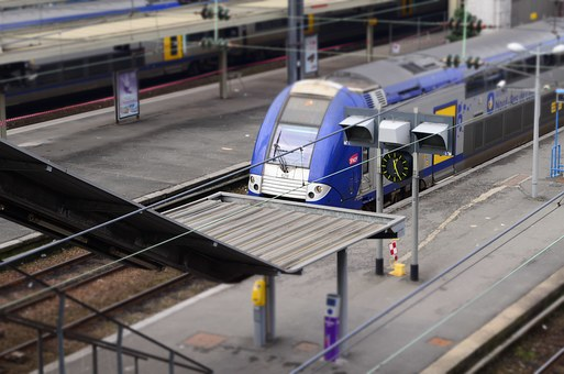 Sncf, Station, Train, Ter, Travel, Wharf, Transport