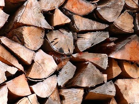 Holzstapel, Tree Wood, Firewood, Wood, Background