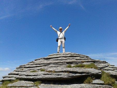 Winning, Victory, Achievement, Dartmoor, Tor