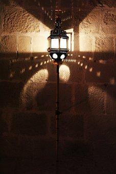 Lamp, Cathar Lamp, Light And Shade, Old Lamp