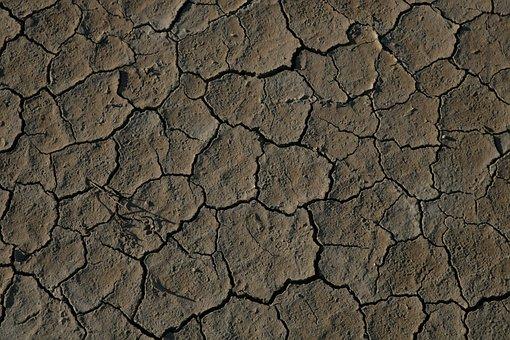 Desert, Death Valley, Crack