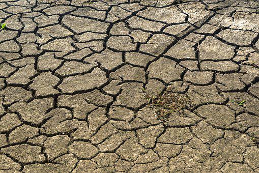 Drought, Mud, Dry, Africa, Famine, Hunger, Cracks