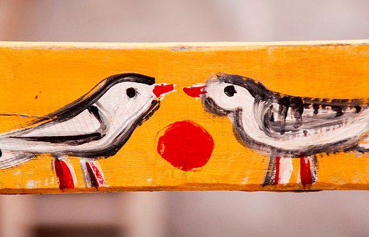 Pair, Love, Birds, Romantic, Valentine's Day