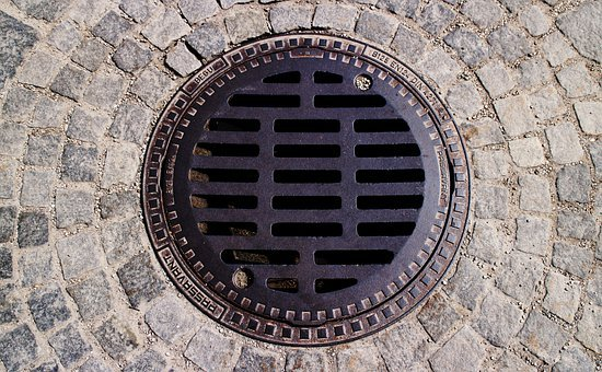 Gulli, Gullideckel, Manhole Covers, Channel