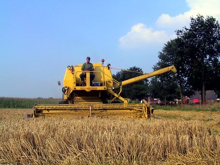 Combine Harvester, Combine, Clayson-140, New-holland