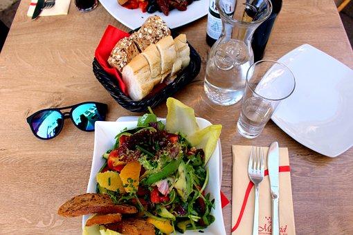 Eat, Salad, Healthy, Delicious, Rocket, Frisch