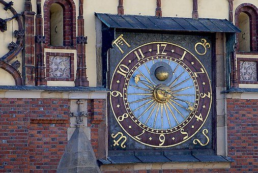 Clock, Old Clock, The Town Hall Clock, Town Hall