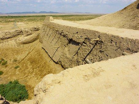 Tamanna Kala, Fortress, Old, Desert, Bukhara