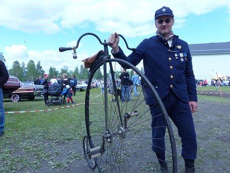 Bikes, Wheels, Umeå, Cycle, Veteran Cycle, Retro