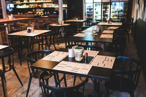Table, Chairs, Chair, Restaurant, Vintage, Retro