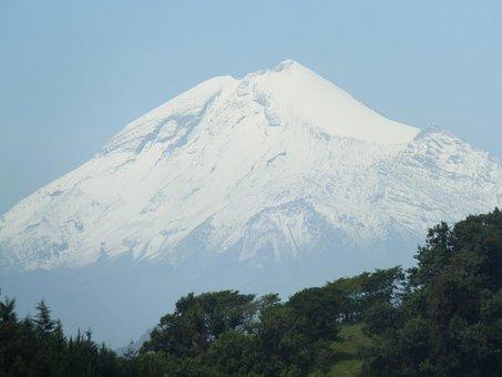 Mountain, Snow, Pico De Orizaba, Mexico, Volcano