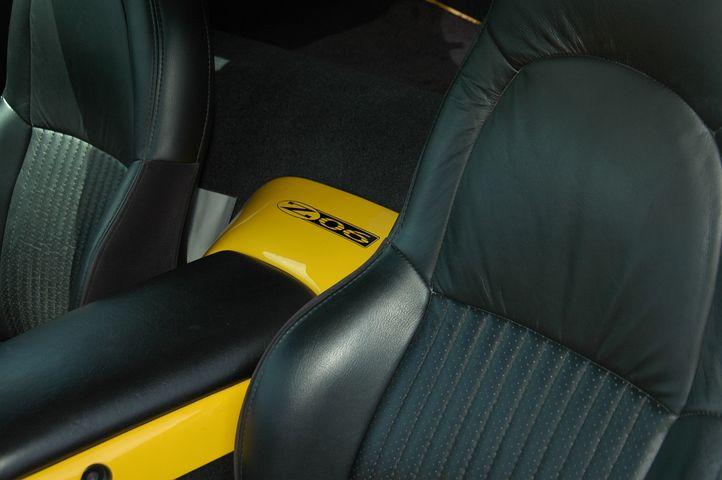 Z06, Corvette, Polished Wheels, Yellow Corvette, Frc