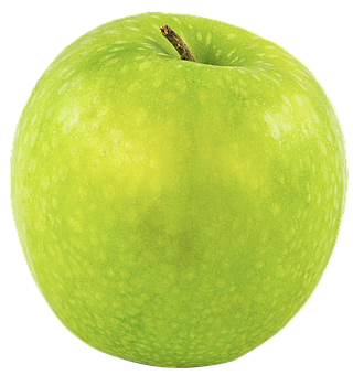 Fruit, Apple, Png, Green, Cutout, Transparent