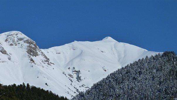 Mountain, Snowy, Alps, Landscape, Nature, Snow