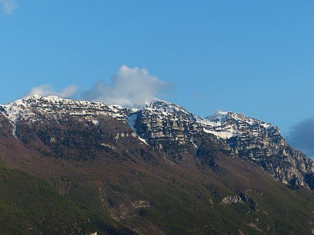 Garda Mountains, Mountains, Monte Baldo, Monte Bal