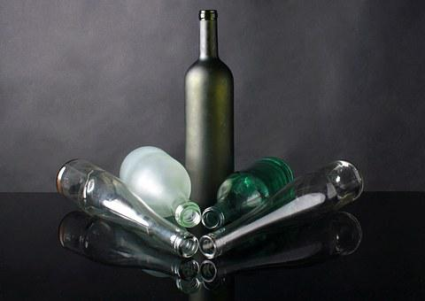 Glass, The Bottle, Composition, Studio, A Bottle Of
