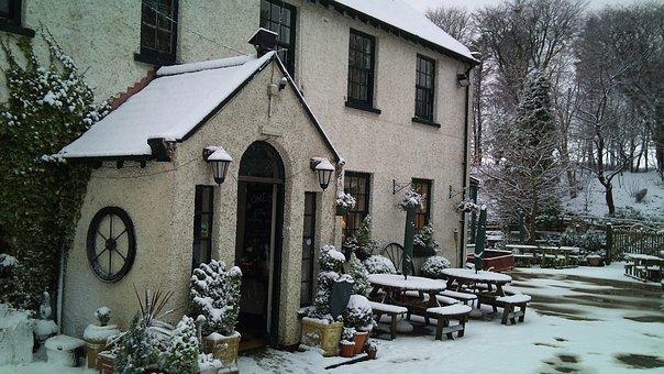 Snow, House, Winter, Season, Home, Snowy, Rural