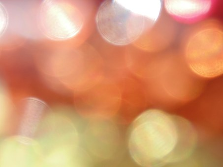 Warm, Bokeh, Blur, Orange, Gold, White, Background