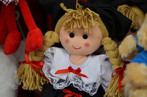 Doll, Alsace, Alsatian Doll, Ragdoll, Toy, Girl Toy