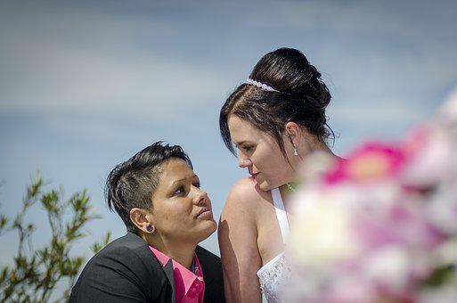 Bride And Groom, Before, Love, Marry, Wedding, Women