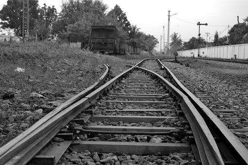 Track, Transportation, Tracks, Train, Indonesia